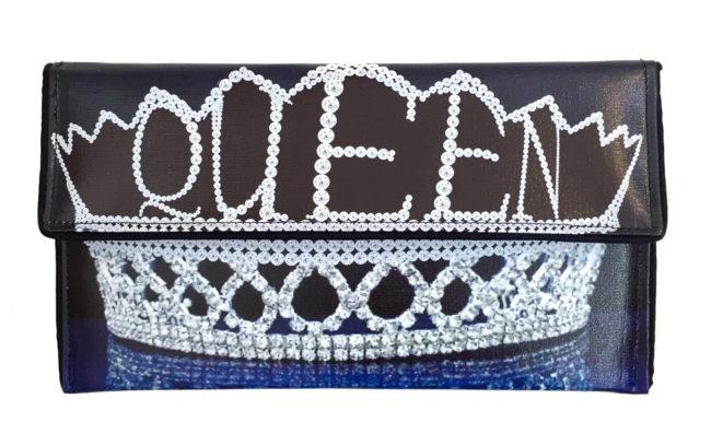 Kent Stetson Crown Clutch