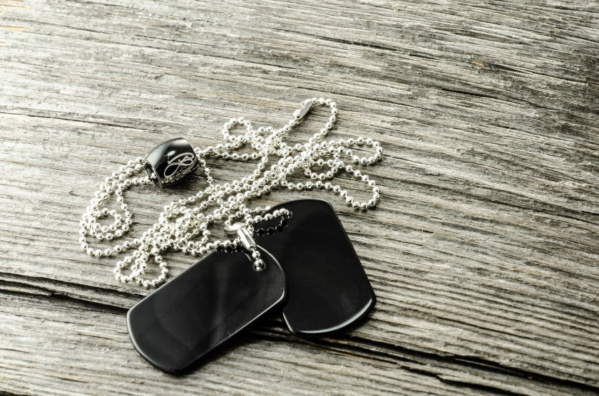 PAX Dog tag Necklace